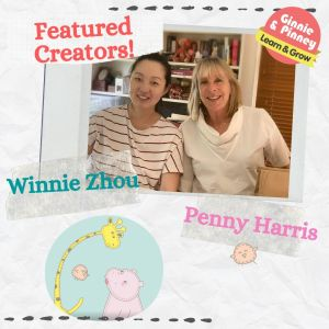 Meeting Penny Harris, Winnie Zhou and the Ginnie & Pinney Characters
