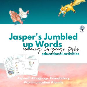 Jasper's Jumbled up Words Learning Language Tasks