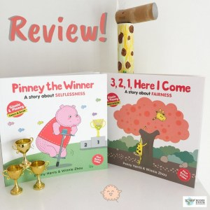 #BookReview: Ginnie & Pinney Book 1 and Book 2 by Penny Harris and Winnie Zhou