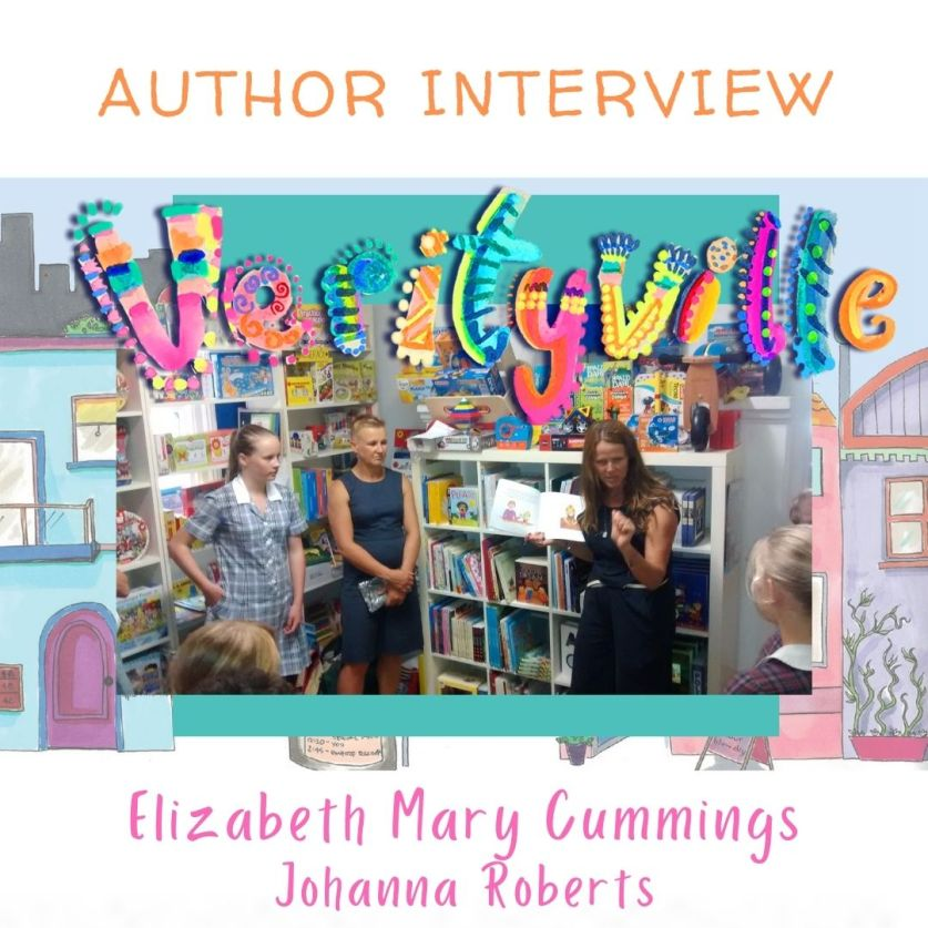 Writing Books and Verityville Folk: Interview with Elizabeth Mary Cummings