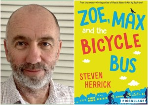 The Quick Six Interview with Steven Herrick on Zoe, Max and the Bicycle Bus