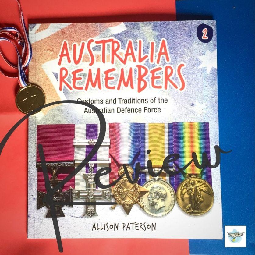 #BookReview: Australia Remembers 2 by Allison Paterson