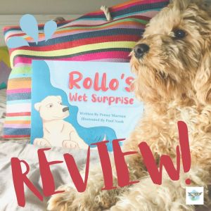 #BookReview: Rollo's Wet Surprise by Penny Macoun and Paul Nash