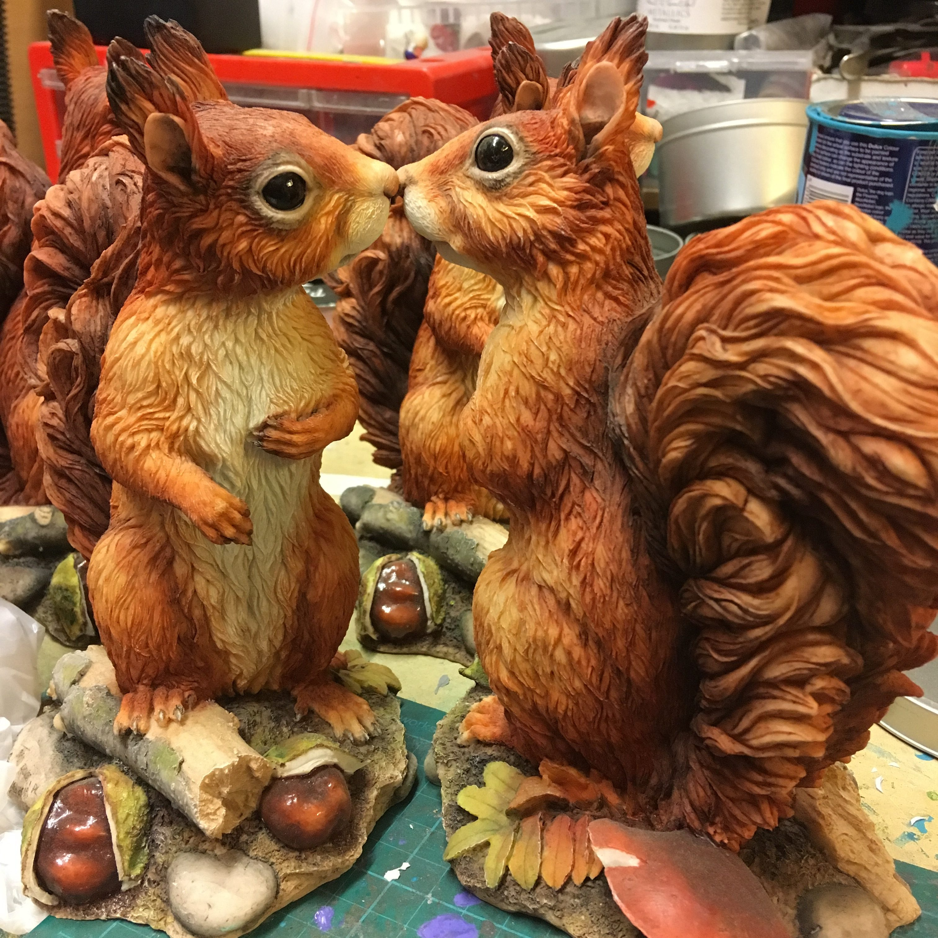 Pleasing Current Squirrel Sculpture By Kirsty Armstrong Sculpture Short Links Chair Design For Home Short Linksinfo