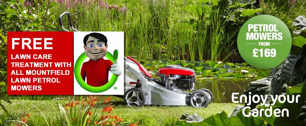 Mountfield Petrol Lawn Mowers