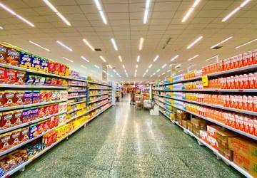 rondje supermarkt