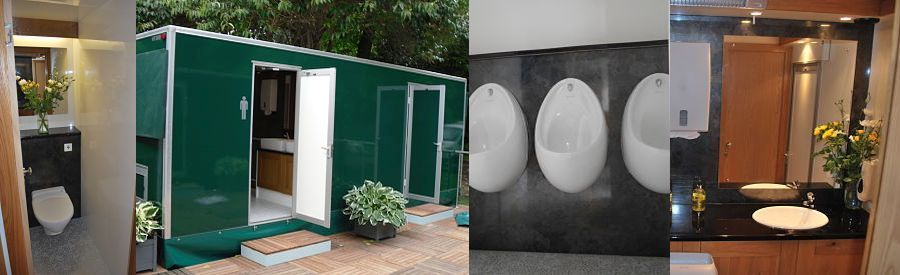 Mobile toilets for hire London