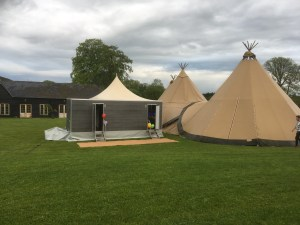 Loos toilets wedding party event hire