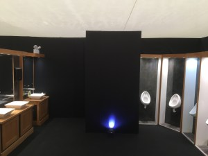 Marquee loos toilets wedding bespoke party