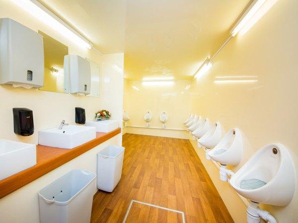 17 Bay Urinal