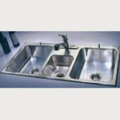 3 Basin Kitchen Sink Dicer Slicer Compartment Commercial Sinks Just Mfg Triple Stainless Steel