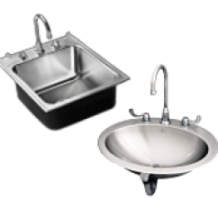 Single Bowl Stainless Kitchen Sink Decorative Tiles For Backsplash Sinks Steel Just Mfg Compartment And Lavatories