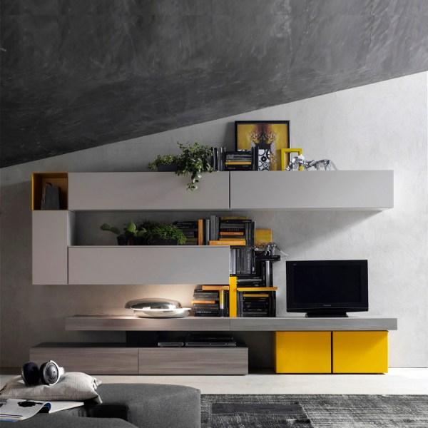 Modern TV Wall Units Italian