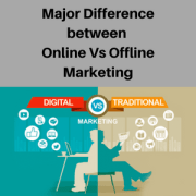 Online marketing Vs Offline Marketing