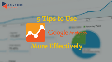 5 Tips to use Google Analytics more Effectively