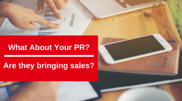 What about your PR? Are they bringing Sales to your Online Store