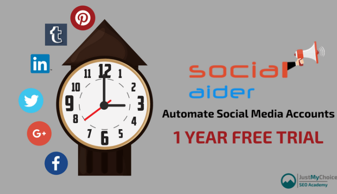 Social Aider Review - A Free Tool to Automate Social Media Accounts