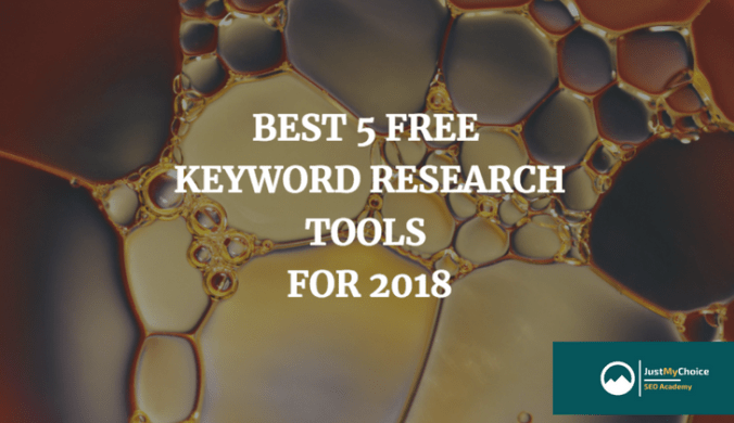 BEST 5 FREE KEYWORD RESEARCH TOOLS FOR 2018