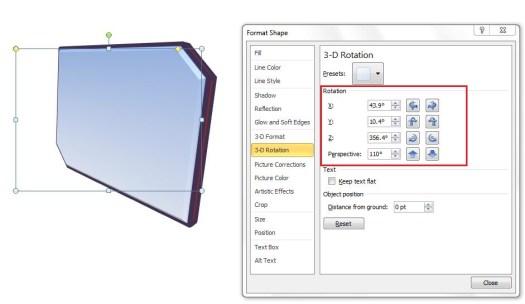 Apply 3D Rotation