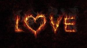 love-fire-wallpaper