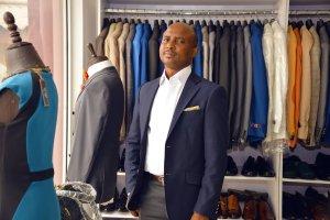 Image Credit: Jumia Nigeria David Eweje in his shop, Lagos, Nigeria