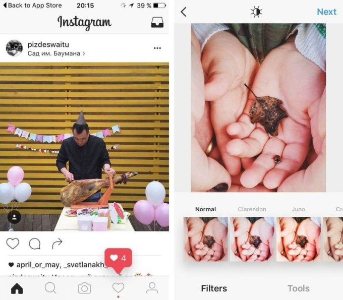 Instagram working a new black-and-white design
