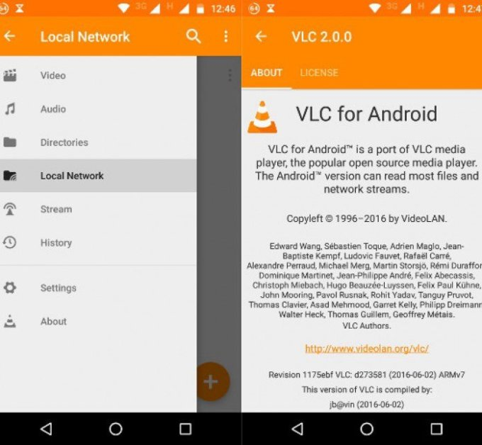 Hurray: VLC 2.0 for Android is out rocking network browsing