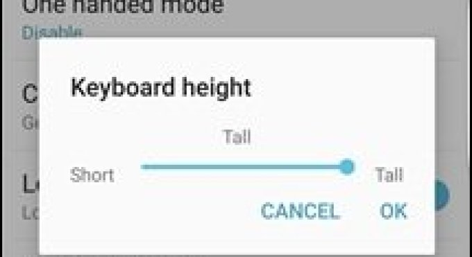 Tutorial: Adjusting The Height of The Google Keyboard on Android