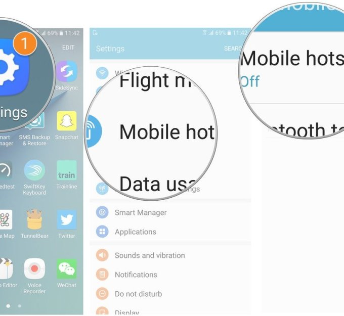 Tutorial:How you can set up a Wi-Fi hotspot on your Samsung Galaxy S7