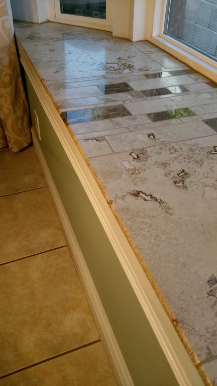 How To Bullnose Tile Two Options Just Needs Paint