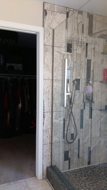 The Walk In Closet Location Is Right Off The Shower In The Master Bathroom.