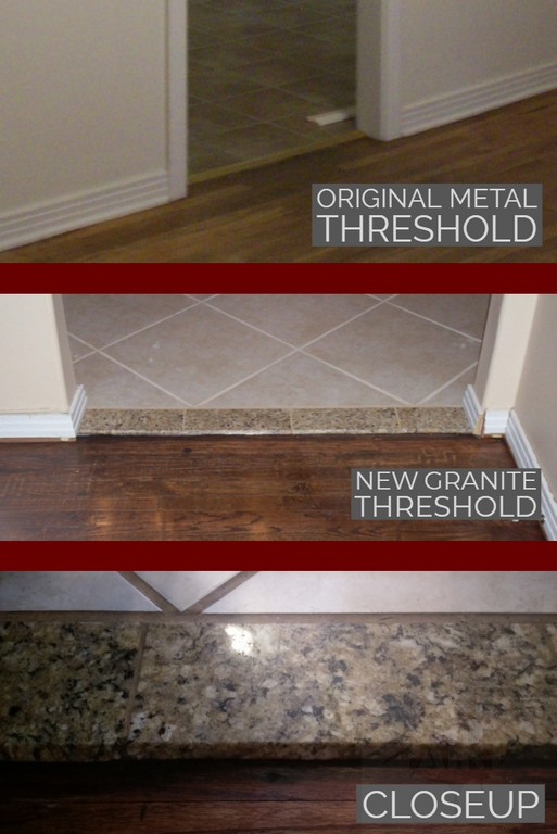 How To DIY A Natural Stone Interior Door Threshold