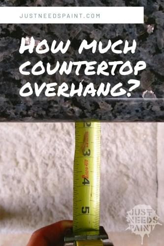 How to Determine Countertop Overhang
