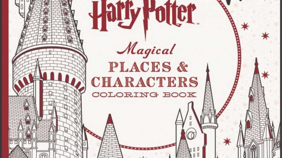 Harry Potter libro 3 da colorare