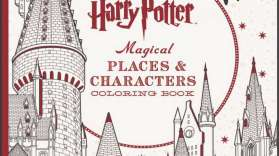 Harry Potter libro 3 da colorare