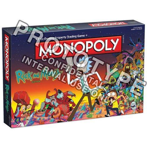 Il Monopoly di Rick and Morty