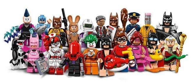 Minifigures di LEGO Batman il film