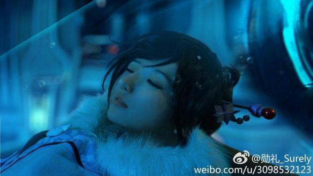 Cosplay di Overwatch: la rappresentazione della storia di Mei in un incredibile servizio fotografico