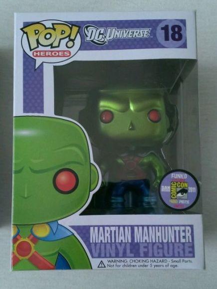 Martian Manhunter (Metallic)