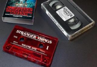 Stranger Things colonna sonora audiocassetta