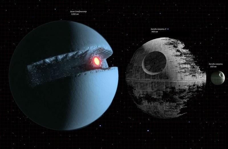 star wars death star starkiller