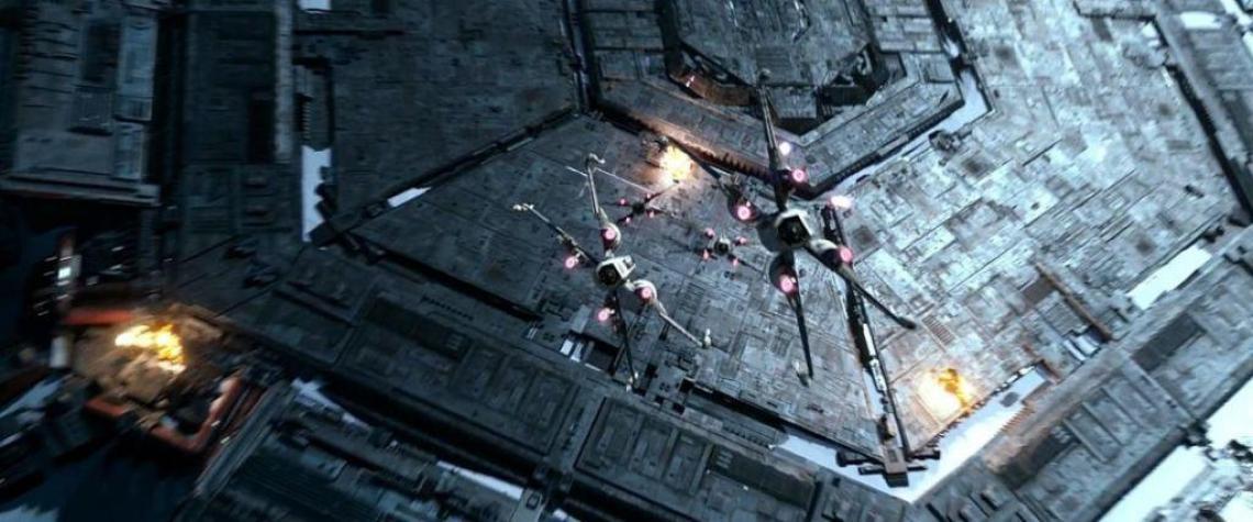 star wars starkiller bombing run