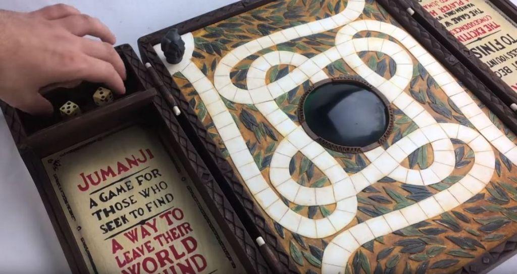 Jumanji ecco come costruire la replica perfetta del gioco visto nel film - Jumanji gioco da tavolo ...