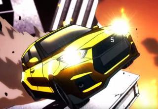 Suzuki Swift Sport Anime spot