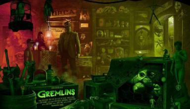 Poster di Gremlins