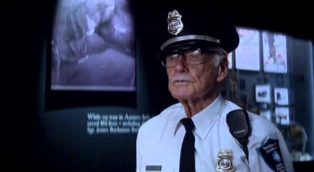 Capitan America: the Winter Soldier (2014), guardia