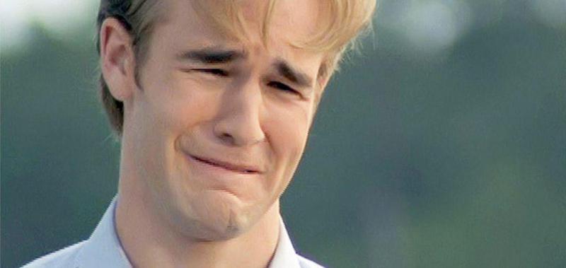 Dawson che piange