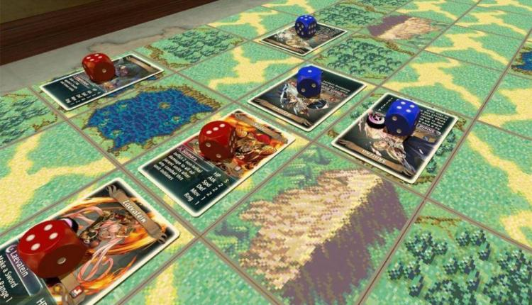 in vendita un gioco da tavolo di Fire Emblem… ma non è ufficiale