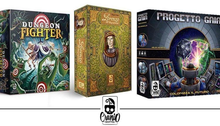 Lorenzo Il Magnifico, Progetto Gaia e Dungeon Fighter: i giochi da tavolo Cranio Creations in offerta su Amazon