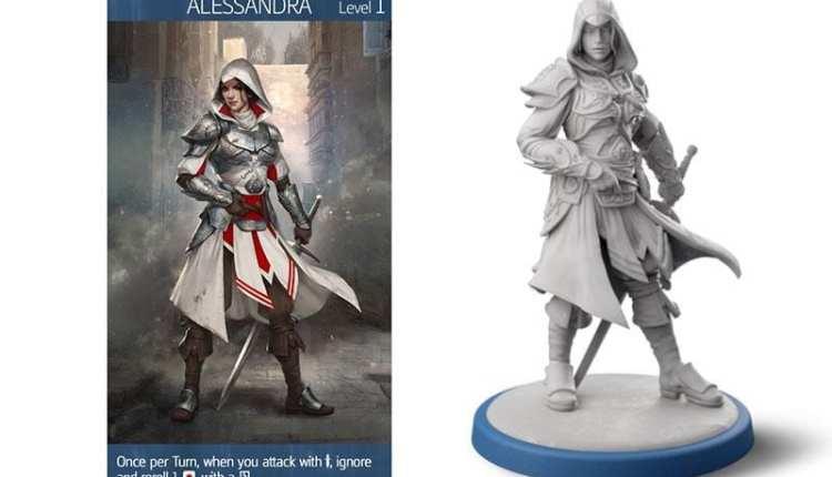 Ezio tornerà in Assassin's Creed: Brotherhood of Venice, il nuovo gioco da tavolo della saga